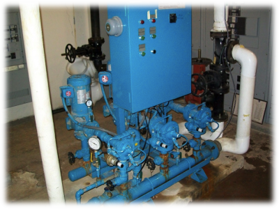 *Factory assembled triplex constant speed system with pressure reducing valves.